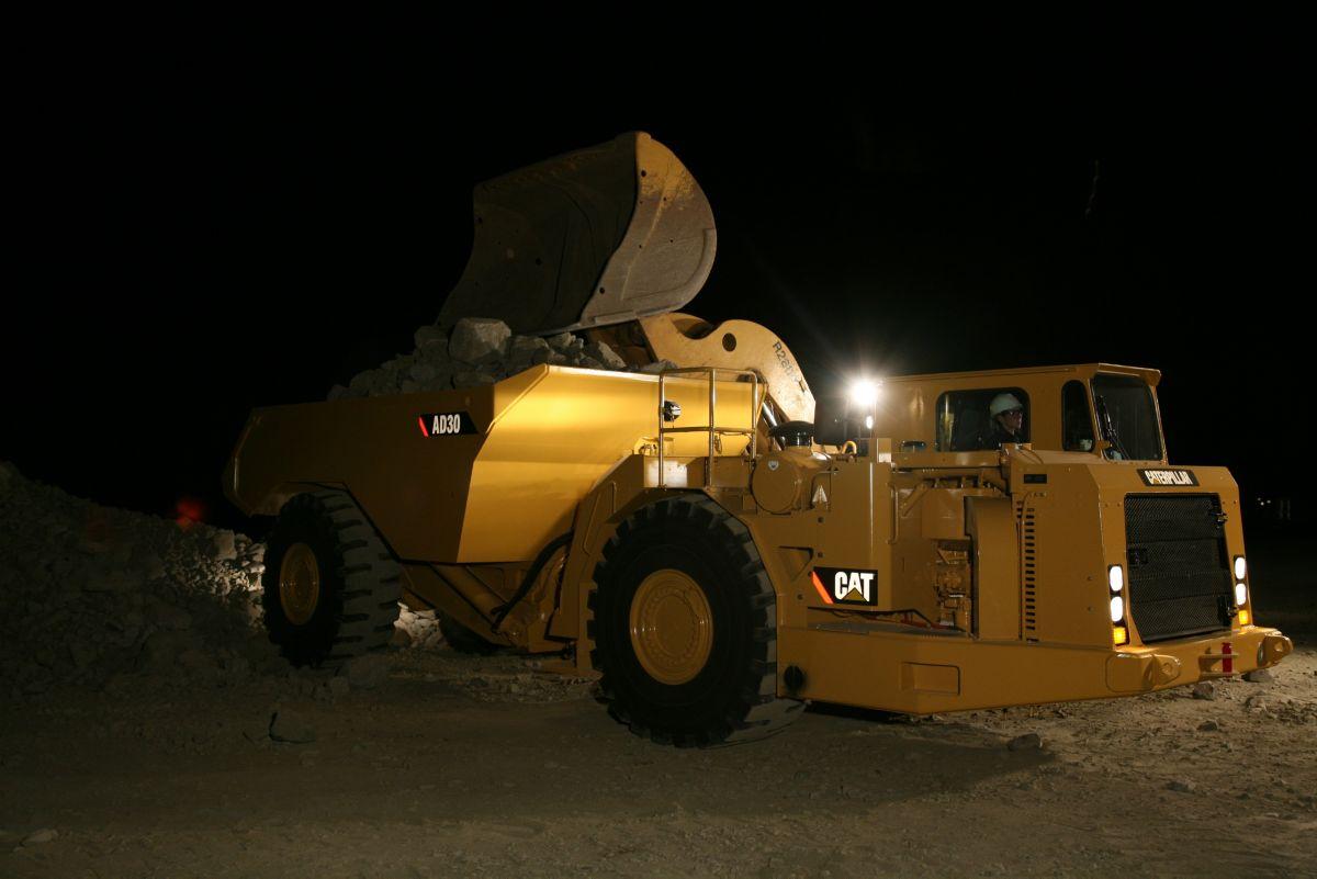 Toromont Cat AD30 Underground Mining Truck #C1890A