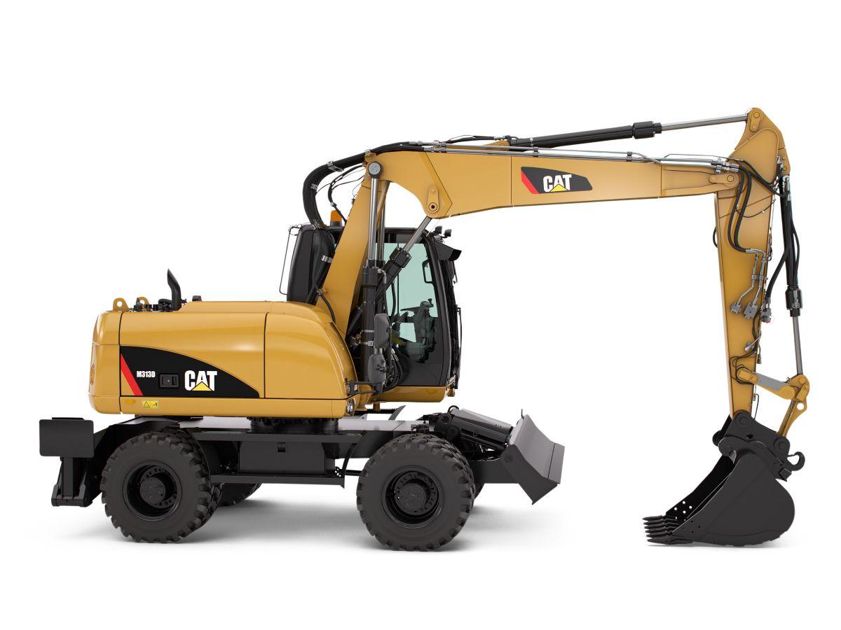 Toromont Cat - M313D Wheel Excavator Underground Mining Tools